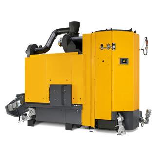 Caldera de astillas ETA HACK 350 kW